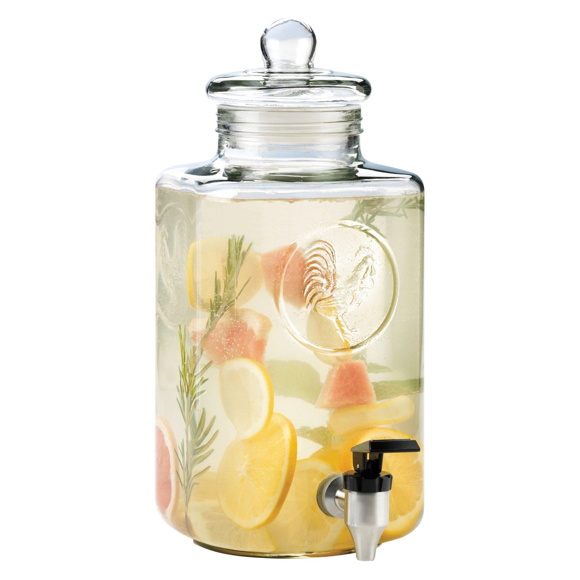 Skleněná nádoba na domácí limonádu