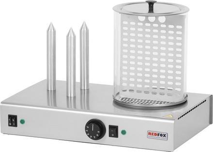 REDFOX   Hot-dog třítrnový s nádobou HD-03NK