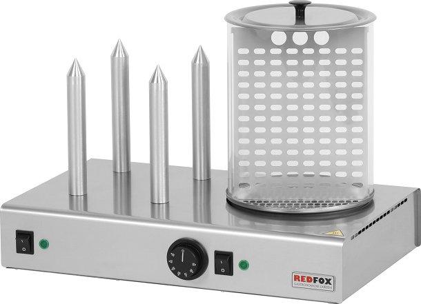 REDFOX   Hot-dog čtyřtrnový s nádobou HD 4N