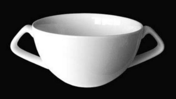 RAK Šálek na polévku s 2 uchy - objem 35 cl
