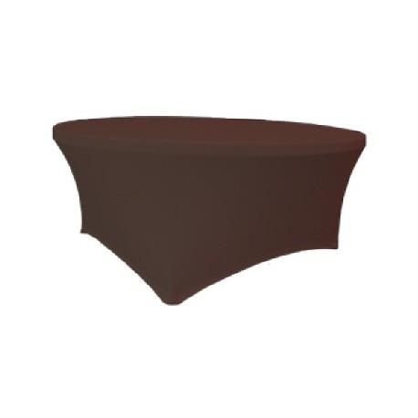 Maxchief Potah na stoly Planet - Verlo čokoláda, kulatý, průměr 150 cm Ubrus na stůl Maxchief,