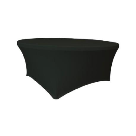 Maxchief Potah na stoly Planet - Verlo černý, kulatý, průměr 180 cm Ubrus na stůl Maxchief, č