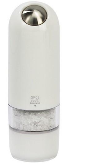 Peugeot Mlýnek ALASKA elektrický na sůl 17 cm, bílý Mlýnek elektrický Peugeot