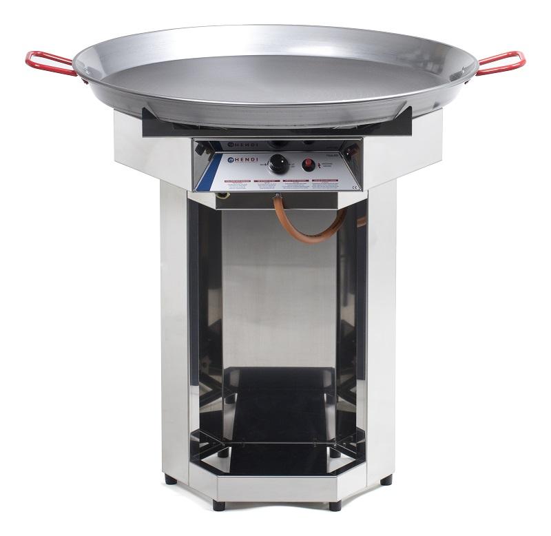 HENDI | 146804, plynový grill paella, Fiesta 800