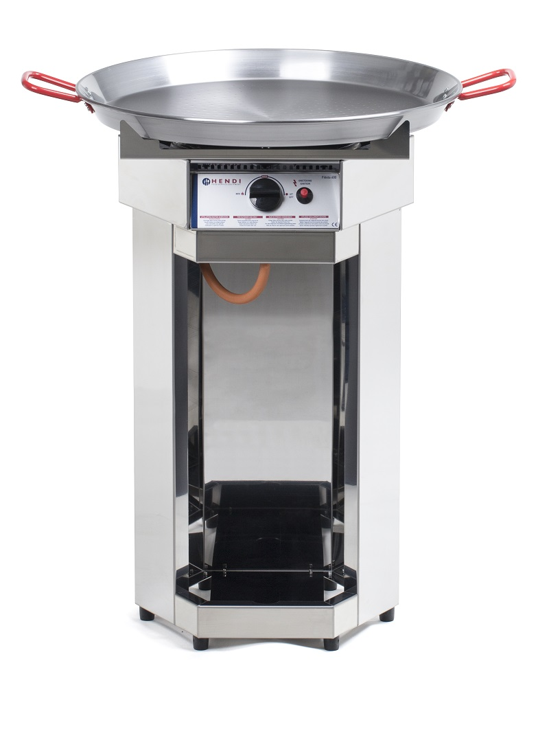 HENDI | 146002, plynový grill paella, Fiesta 600