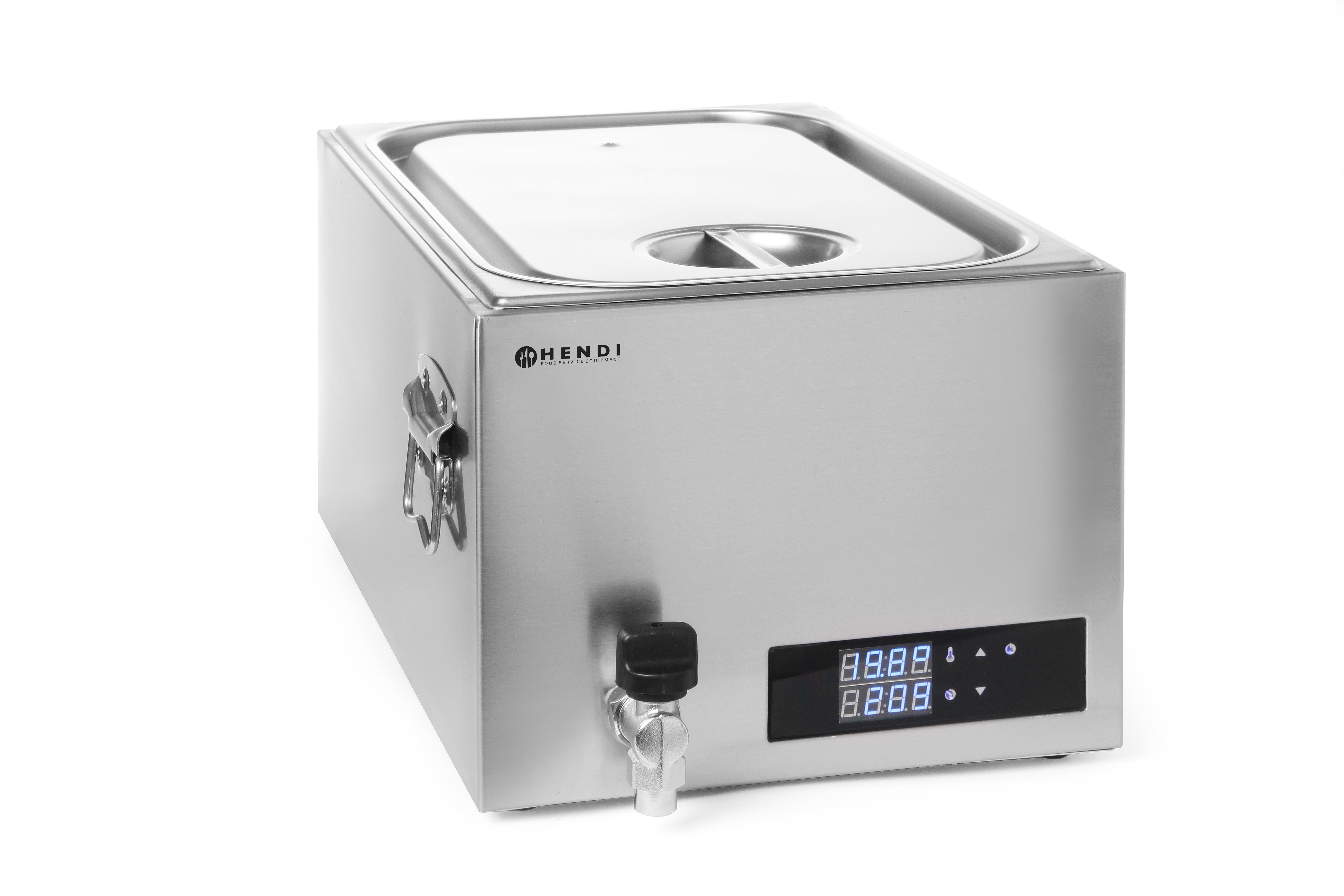 HENDI 225448 | SOUS VIDE systém, objem 20 litrů, velikost 1/1 GN