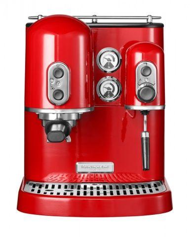 Kávovar KitchenAid Artisan královská červená