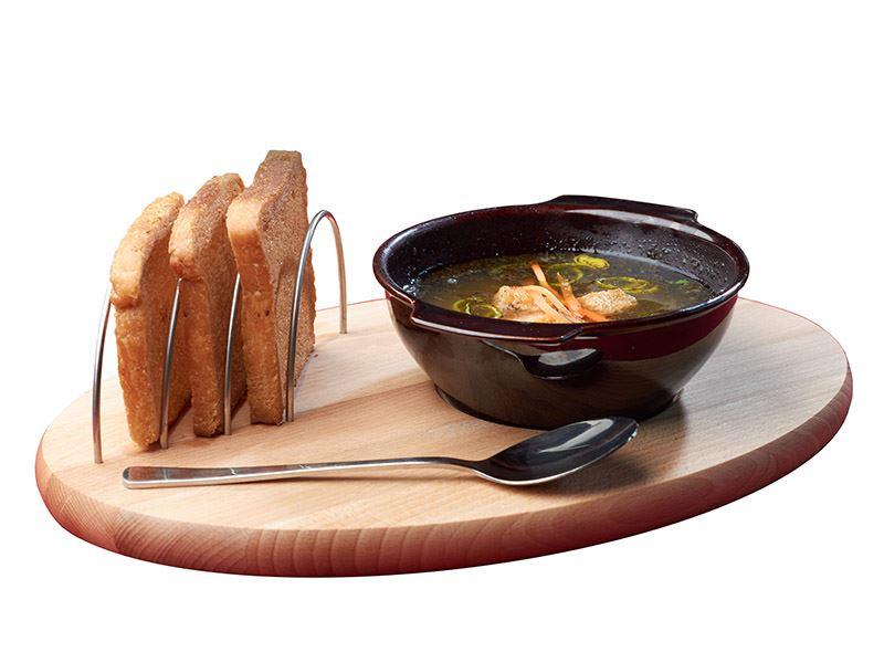 Servírovací prkénko na guláš, polévku