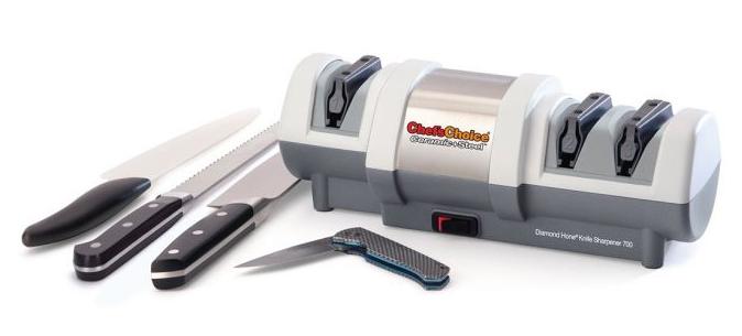 Chef's Choice Elektrický brousek na keramické a ocelové nože CC-700