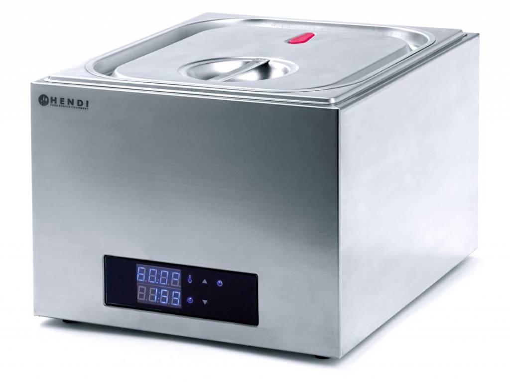 HENDI 225264 | SOUS VIDE systém, objem 13 litrů, velikost GN 2/3