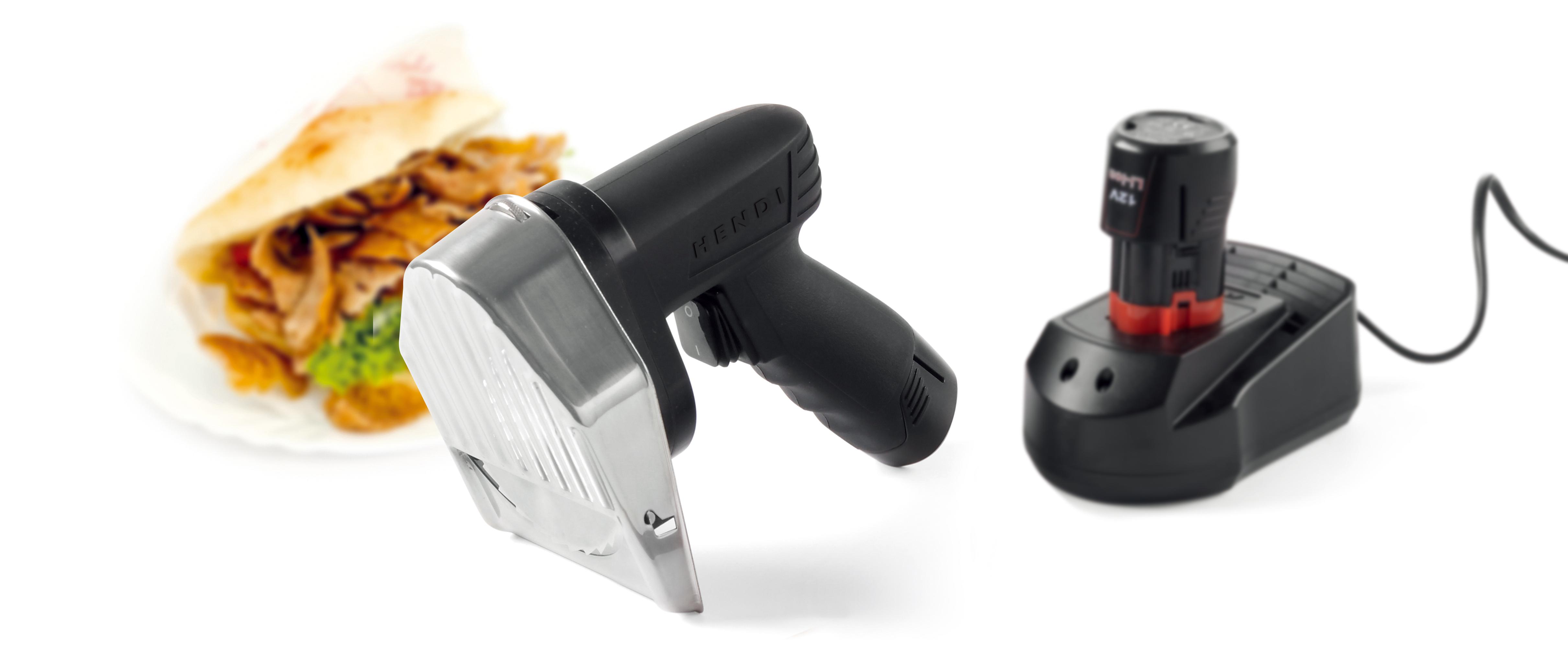 Hendi 267257 - elektrický nůž na kebab akumulátorový
