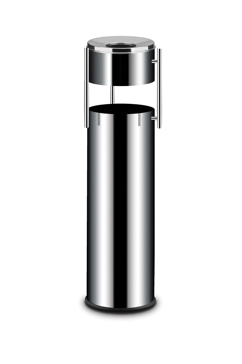 Hendi 691373 - Odpadkový koš s popelníkem Popelník s odpadkovým košem