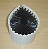 Obvodový kartáč do myčky na sklo SPULBOY 150 mm