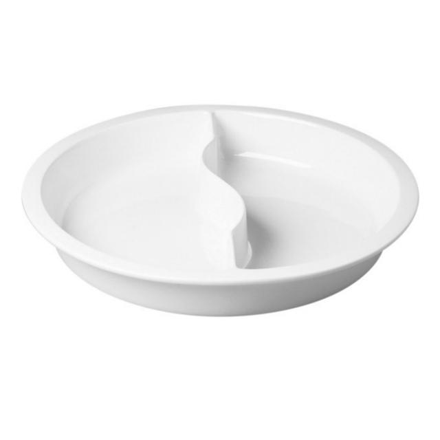 RAK   Porcelan, Buffet - nádoba do chafingu - dělená, pr. 39 cm