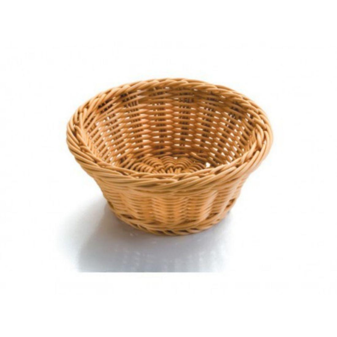 Košík na pečivo polypropylen - kulatý