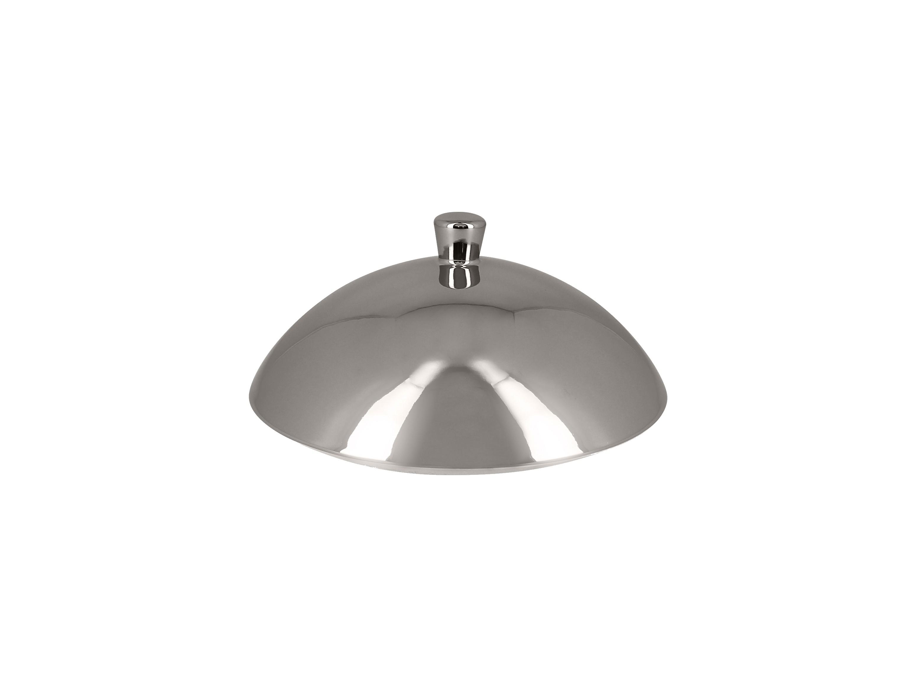 RAK | Metalfusion poklička pro talíř hluboký Gourmet pr. 15,5 cm, stříbrný