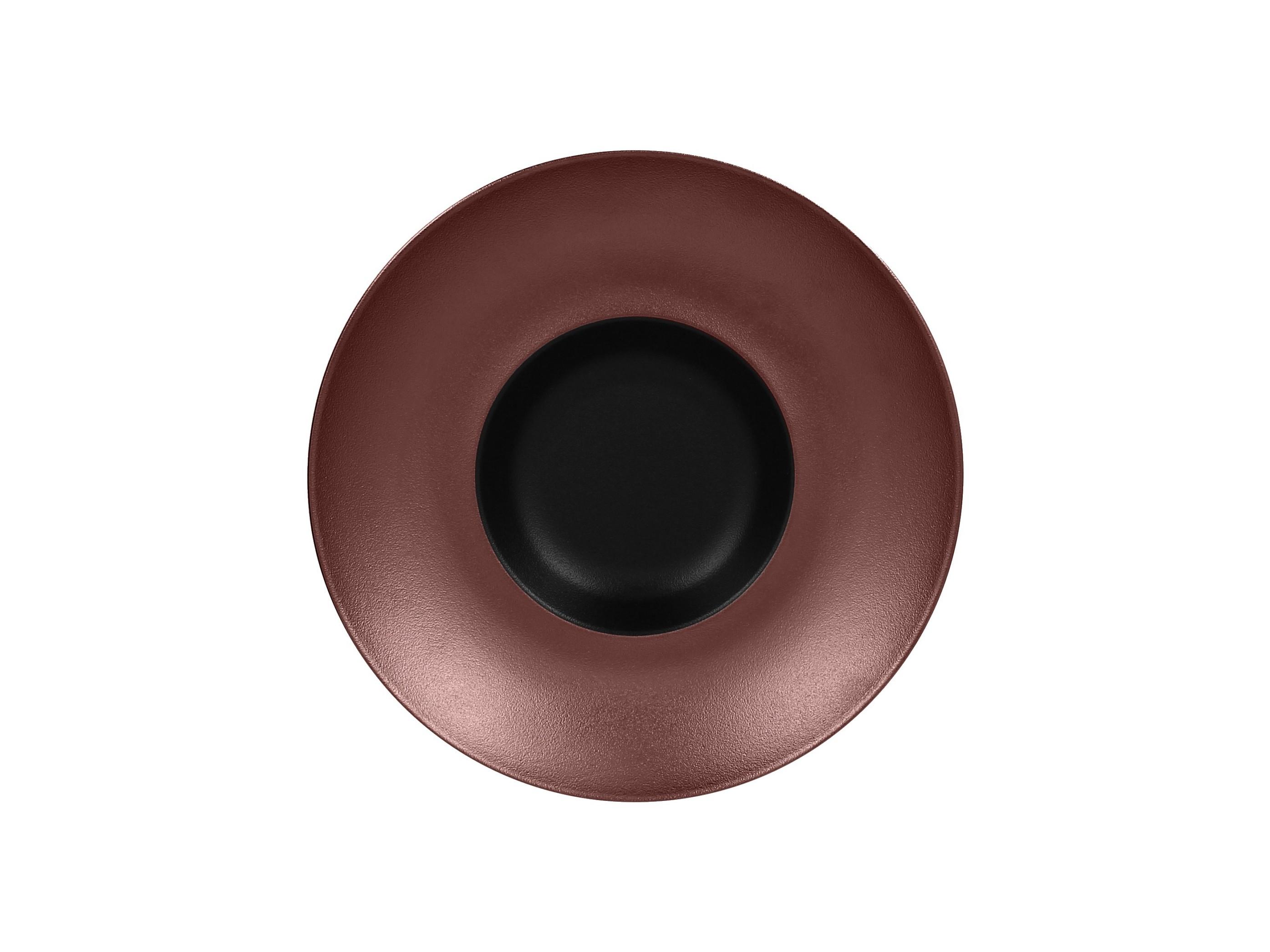 RAK | Metalfusion talíř hluboký Gourmet pr. 26 cm, černo-bronzový