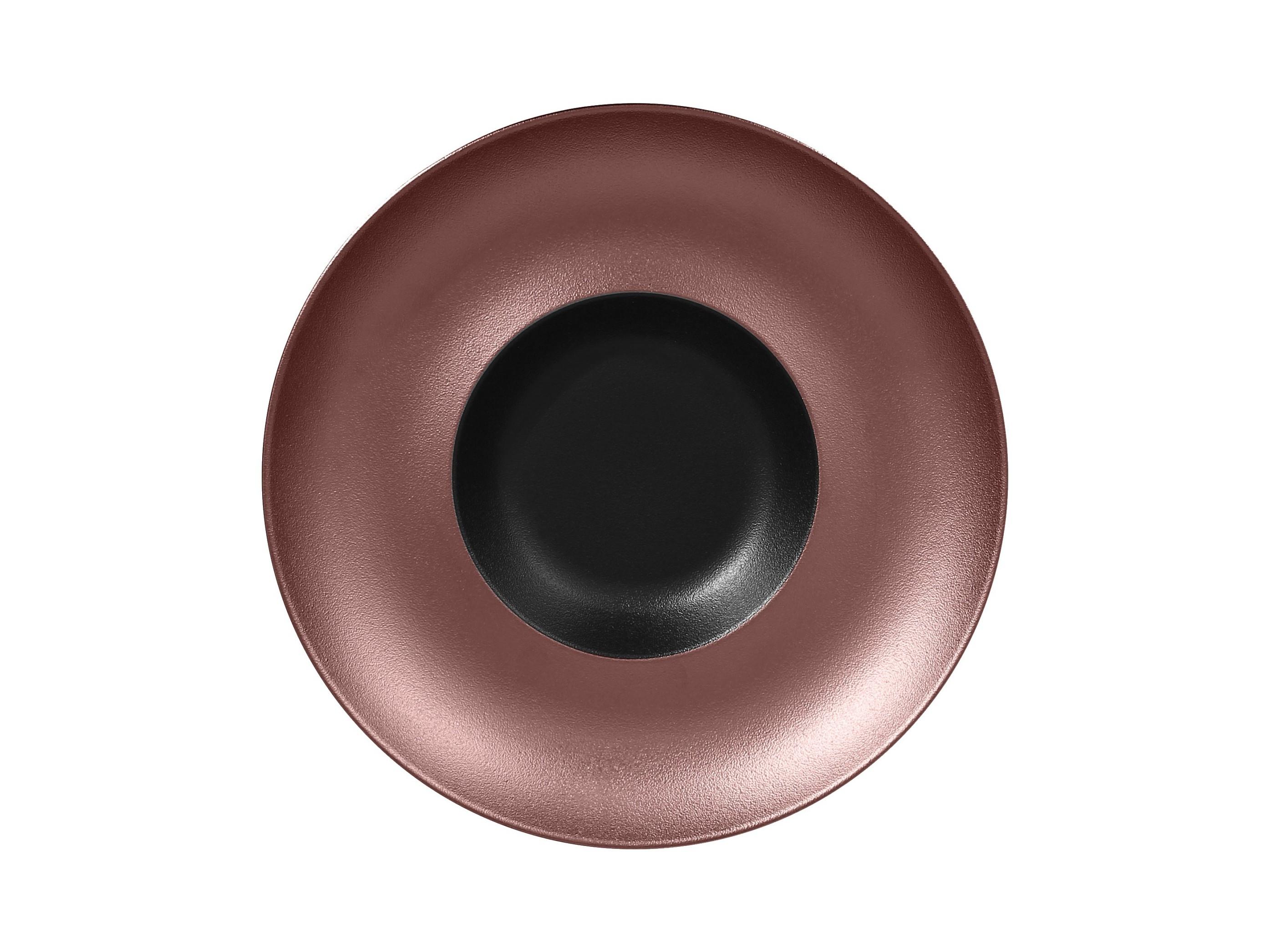 RAK | Metalfusion talíř hluboký Gourmet pr. 29 cm, černo-bronzový