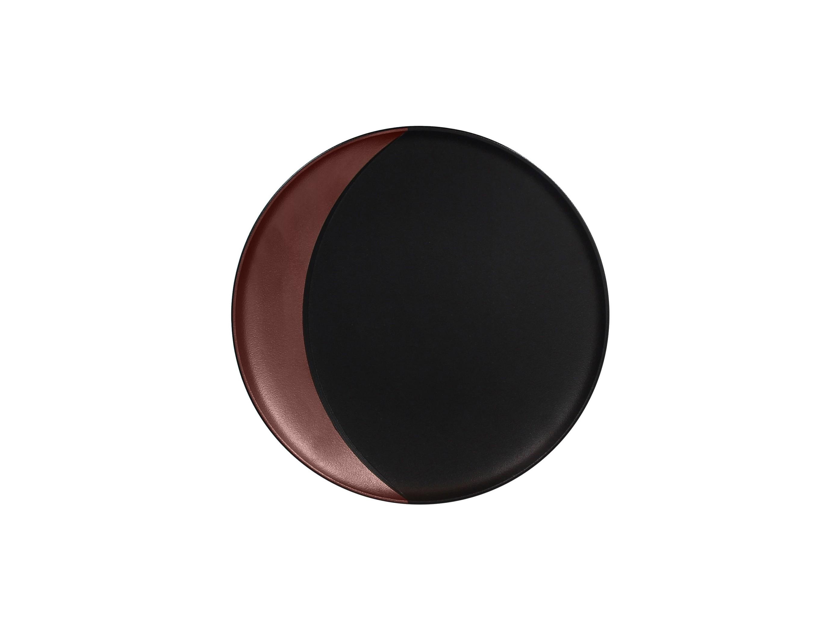 RAK | Metalfusion talíř hluboký pr. 24 cm, černo-bronzový