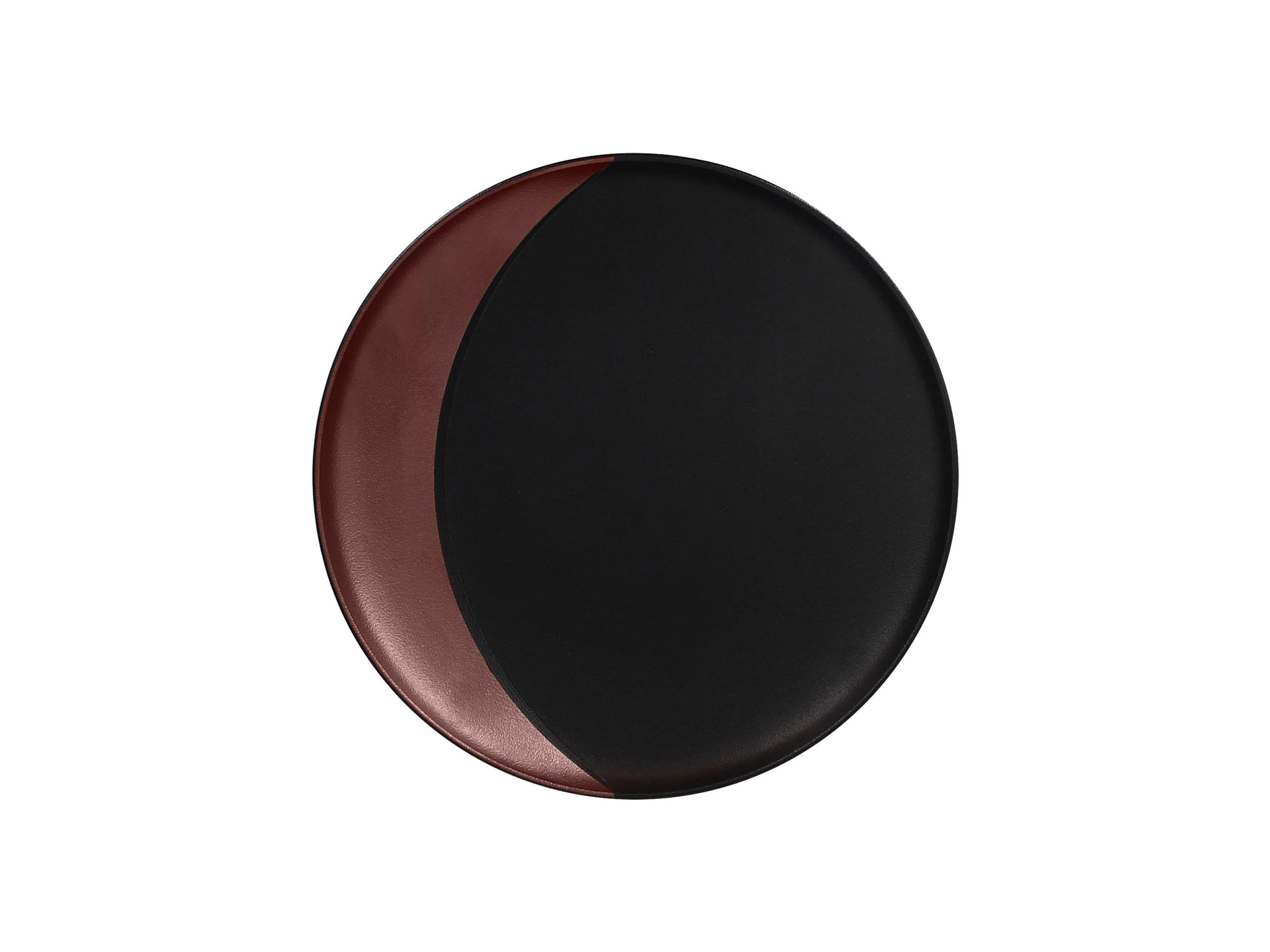 RAK | Metalfusion talíř hluboký pr. 27 cm, černo-bronzový