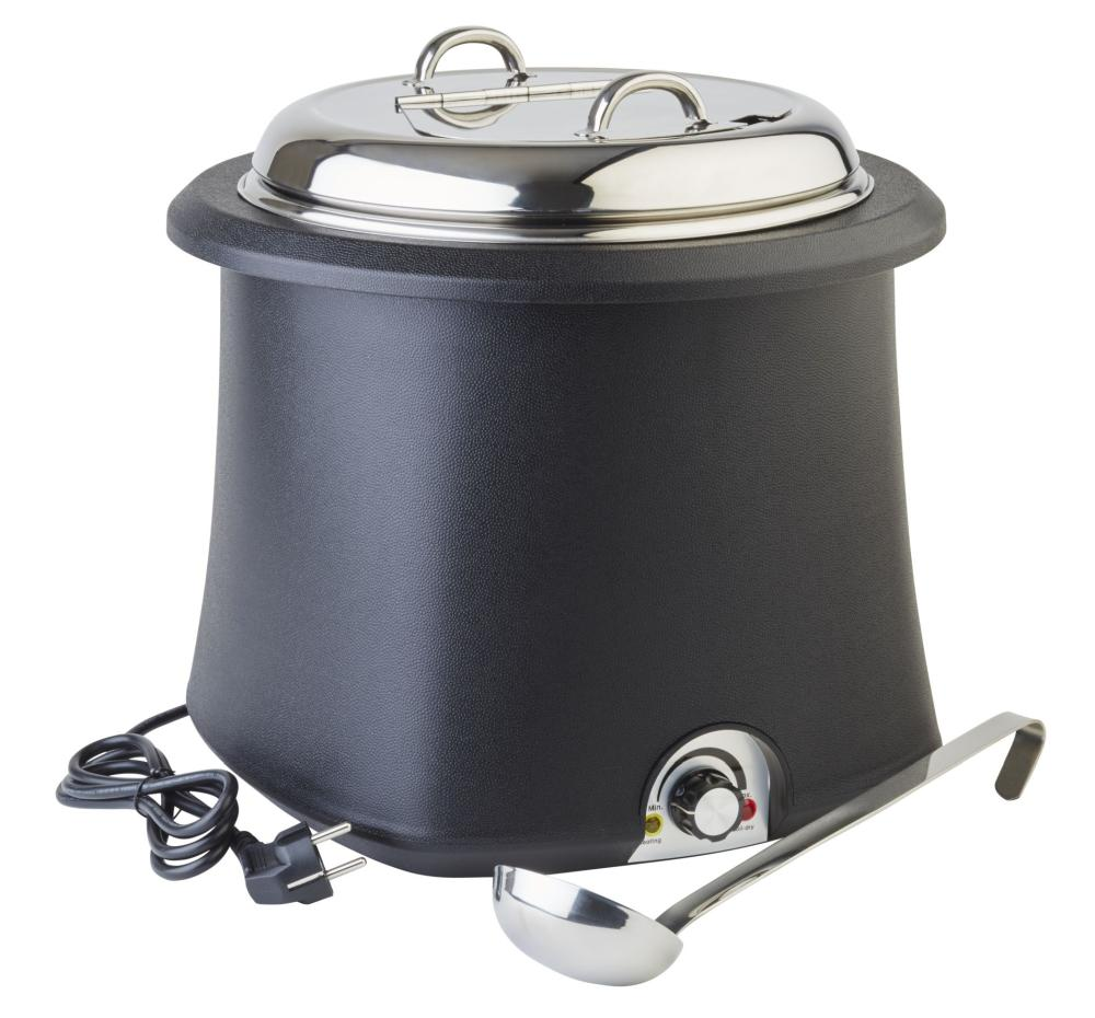 APS | elektrický Kotlík na polévku - objem 10 l, černý
